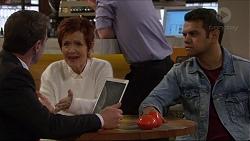 Paul Robinson, Susan Kennedy, Nate Kinski in Neighbours Episode 7235