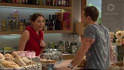 Paige Novak, Aaron Brennan in Neighbours Episode 7235