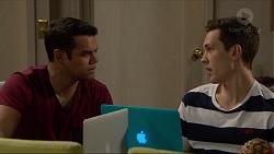 Nate Kinski, Josh Willis in Neighbours Episode 7235