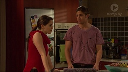 Paige Novak, Tyler Brennan in Neighbours Episode 7235