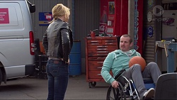 Steph Scully, Toadie Rebecchi in Neighbours Episode 7236
