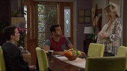 Josh Willis, Nate Kinski, Amber Turner in Neighbours Episode 7236