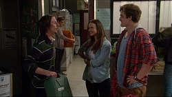 """Gary """"Gazza"""" Saunders, Amy Williams, Kyle Canning in Neighbours Episode 7236"""