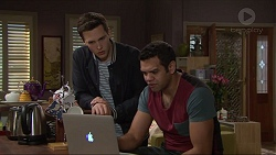 Josh Willis, Nate Kinski in Neighbours Episode 7236