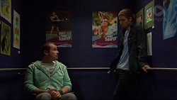 Toadie Rebecchi, Tyler Brennan in Neighbours Episode 7237