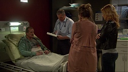 Toadie Rebecchi, Karl Kennedy, Sonya Mitchell, Steph Scully in Neighbours Episode 7238