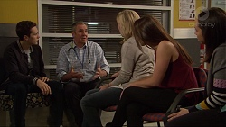 Josh Willis, Karl Kennedy, Lauren Turner, Paige Novak, Imogen Willis in Neighbours Episode 7238