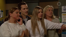 Terese Willis, Josh Willis, Amber Turner, Lauren Turner in Neighbours Episode 7239
