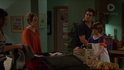 Amy Williams, Sonya Mitchell, Kyle Canning, Jimmy Williams in Neighbours Episode 7239