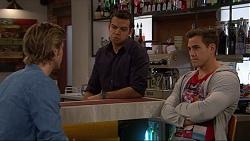 Daniel Robinson, Nate Kinski, Aaron Brennan in Neighbours Episode 7241