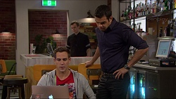 Aaron Brennan, Nate Kinski in Neighbours Episode 7241