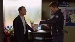 Paul Robinson, Mark Brennan in Neighbours Episode 7241