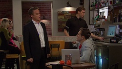 Paul Robinson, Aaron Brennan in Neighbours Episode 7241