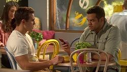 Aaron Brennan, Nate Kinski in Neighbours Episode 7242