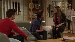 Josh Willis, Brad Willis, Piper Willis, Imogen Willis in Neighbours Episode 7242