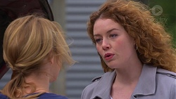 Steph Scully, Belinda Bell in Neighbours Episode 7242