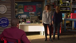 Toadie Rebecchi, Belinda Bell, Steph Scully in Neighbours Episode 7242