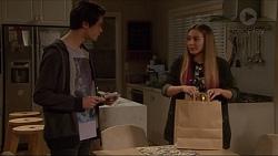 Ben Kirk, Piper Willis in Neighbours Episode 7243