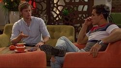 Daniel Robinson, Aaron Brennan in Neighbours Episode 7243