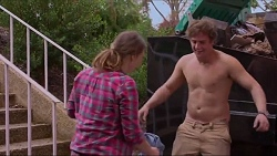 Amy Williams, Kyle Canning in Neighbours Episode 7243