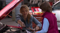 Steph Scully, Jimmy Williams in Neighbours Episode 7244