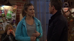 Steph Scully, Amy Williams, Paul Robinson in Neighbours Episode 7245