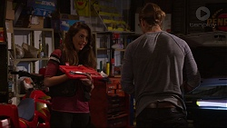 Paige Novak, Tyler Brennan in Neighbours Episode 7245