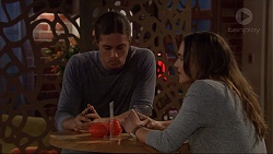 Tyler Brennan, Amy Williams in Neighbours Episode 7245