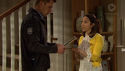 Mark Brennan, Imogen Willis in Neighbours Episode 7246