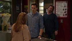Terese Willis, Josh Willis, Brad Willis in Neighbours Episode 7246
