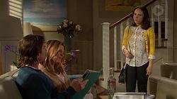 Brad Willis, Terese Willis, Imogen Willis in Neighbours Episode 7246