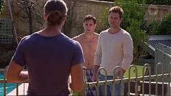 Tyler Brennan, Aaron Brennan, Mark Brennan in Neighbours Episode 7247