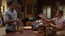 Nate Kinski, Aaron Brennan in Neighbours Episode 7247