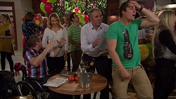 Toadie Rebecchi, Steph Scully, Karl Kennedy, Kyle Canning in Neighbours Episode 7247