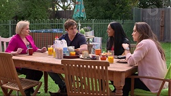 Sheila Canning, Kyle Canning, Shay Daeng, Amy Williams in Neighbours Episode 7248