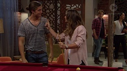 Tyler Brennan, Amy Williams, Kyle Canning, Shay Daeng in Neighbours Episode 7248