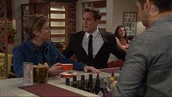 Daniel Robinson, Aaron Brennan, Nate Kinski in Neighbours Episode 7249