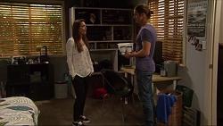 Paige Novak, Tyler Brennan in Neighbours Episode 7249