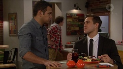 Nate Kinski, Kyle Canning, Aaron Brennan in Neighbours Episode 7249