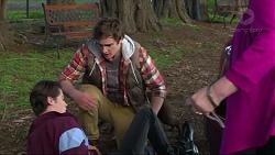 Ben Kirk, Kyle Canning in Neighbours Episode 7250