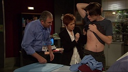 Karl Kennedy, Susan Kennedy, Ben Kirk in Neighbours Episode 7250