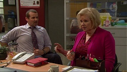 Toadie Rebecchi, Sheila Canning in Neighbours Episode 7250