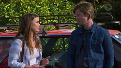 Amy Williams, Daniel Robinson in Neighbours Episode 7250