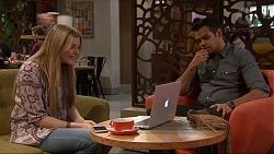 Amber Turner, Nate Kinski in Neighbours Episode 7250