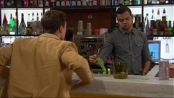 Aaron Brennan, Nate Kinski in Neighbours Episode 7250