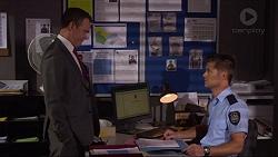 Paul Robinson, Mark Brennan in Neighbours Episode 7250