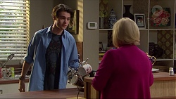Ben Kirk, Sheila Canning in Neighbours Episode 7250