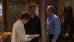 Susan Kennedy, Mark Brennan, Karl Kennedy in Neighbours Episode 7250