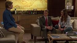 Daniel Robinson, Paul Robinson, Amy Williams in Neighbours Episode 7250