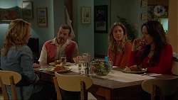 Steph Scully, Toadie Rebecchi, Sonya Rebecchi, Vanessa Villante in Neighbours Episode 7252